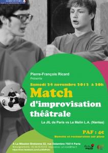 Match d'improvisation théâtrale