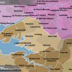 Carte du pays Kernevodez