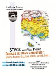 Stage Vannetais avec Alan Pierre