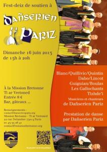 Fest-deiz Dañserien Pariz