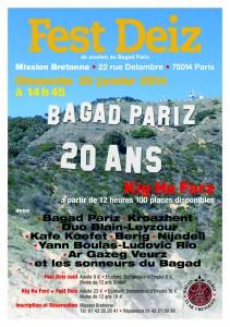 20 ans Bagad Pariz