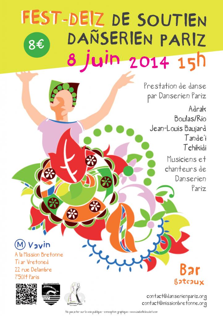 Affiche fest-deiz dptav 8 juin 2014