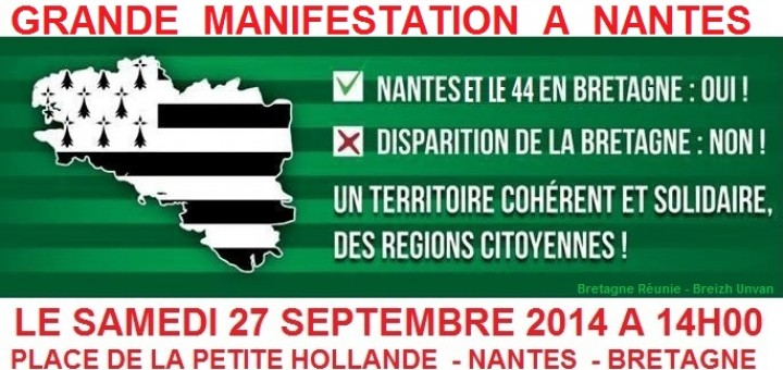 Manifestation Nantes 27/09/2014