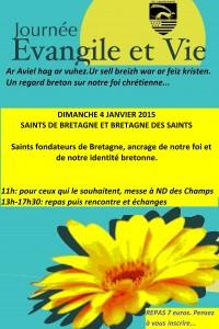 Evangile et Vie Janvier 2015