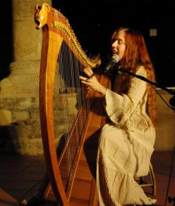 Affiche Stage harpe avec Cécile Corbel à Paris