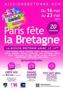 Fête de la Bretagne Paris 2015
