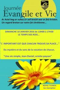 Evangile et Vie janvier 2016