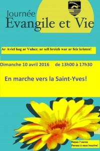 Evangile et Vie avril 2016