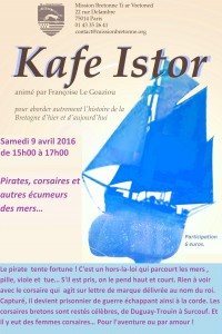 Kafe Istor avril 2016