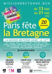 Affiche Fête de la Bretagne 2016