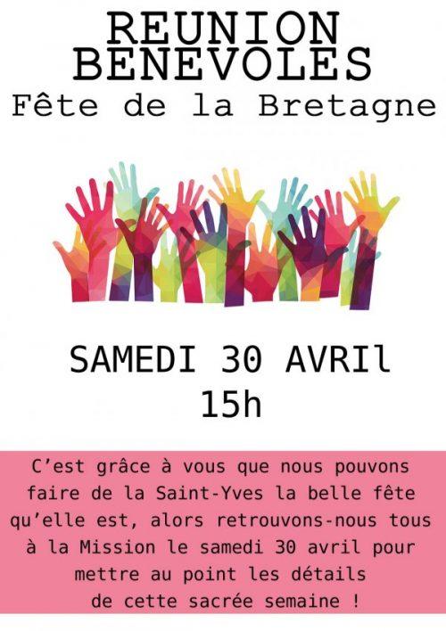 Réunion bénévole sSt Yves 2016