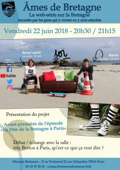 Vendredi Session : Web-série Âmes de Bretagne