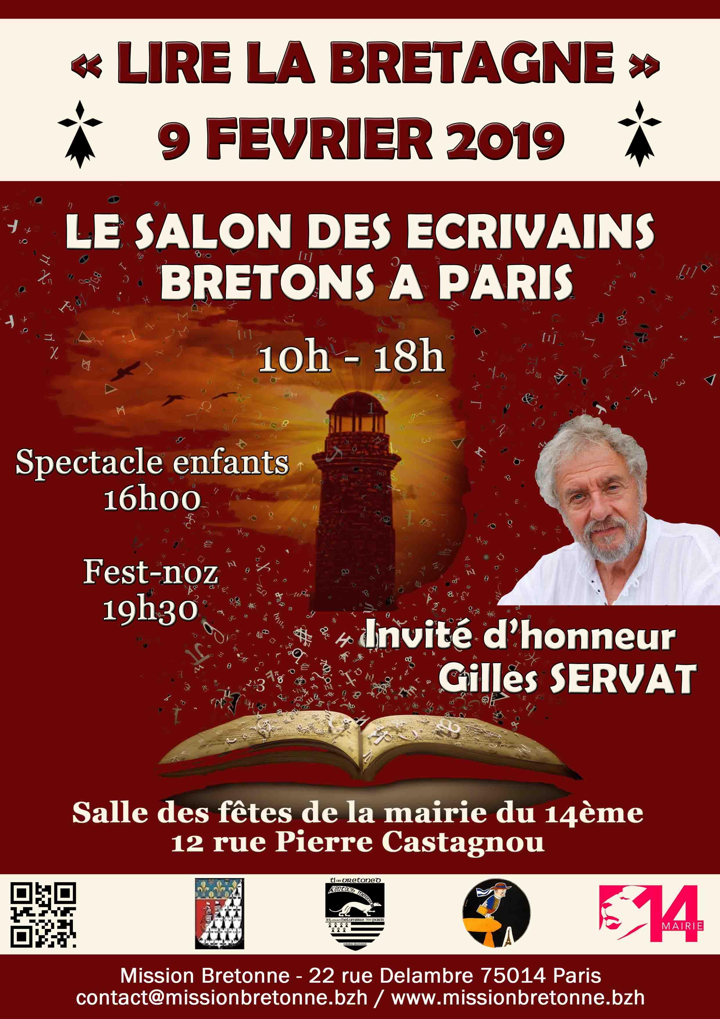 Lire La Bretagne Salon Des Ecrivains Bretons 2019